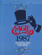 New Caney High School Texas 1987 Eagle Yearbook Annual HS