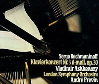 """Rachmaninoff Piano Concert NR.3 Ashkenazy Lso Andre Previn 12 """" LP (L7285)"""