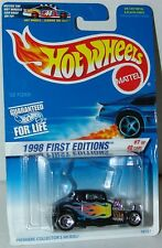 Hot Wheels 1998 First Editions 7/40 32 Ford #636 - In Slide Out Blister Bubble