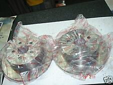 FOR NISSAN ALMERA BRAKE DISCS PAIR FRONT 1.4 2.0D 1995-