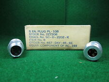(1) PL-108 Connector for BC-1023-A NOS Military