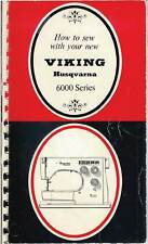 "Viking 6000 Instruction Manual ""Black & Red"" Manual in PDF format on a CD"