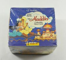 1993 Panini Disney's Aladdin Trading Card Jumbo Box