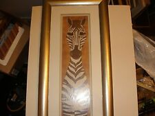 """""""Dusty"""" the Zebra by Chris Davis signed and numbered- No.1 of 30"""