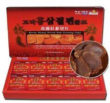200G Korean Red Ginseng Root Slices + 24K Gold Anti Radiation Sticker