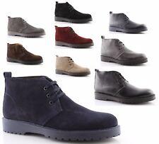 polacchine uomo scarpe made in italy pelle camoscio nero blu marrone beige grigi