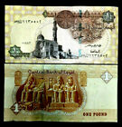 Egypt 1 Pound Banknote World Paper Money UNC Currency Bill Note