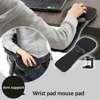 Ergonomic Home Office Computer Arm Rest Chair Desk Wrist Mouse Pad Support NEW