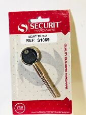 Securit Security Bolt Key Nickel Plated