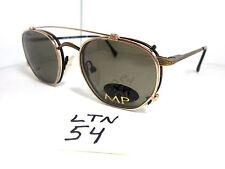 Vtg Nos MELROSE PLACE Eyeglass Frame 1990s w/Sunglass Clip Amanda (LTN-54)