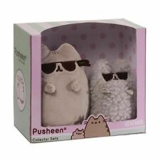 Pusheen the Cat and Stormy Sunglasses Collector Plush Cuddly Toy Set by Gund