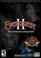 EverQuest II 2 The Complete Collection Windows 7/XP/Vista PC Game Series Pack