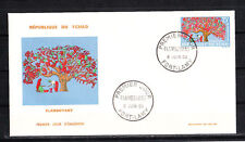 Tchad  enveloppe 1er jour  arbre  flamboyant     1964