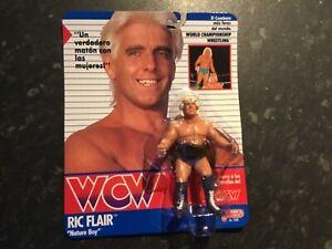 Wcw wwf vintage galoob 1990 esp moc  RICK FLAIR