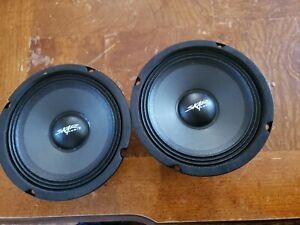 Pair of Skar Audio 6.5 inch Midrange Loudspeaker - FSX65-8