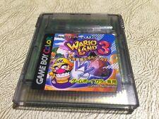 Wario Land 3 Gameboy Color  Nintendo - Japanese USA SELLER Like USA Ver.