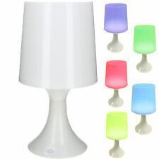 LED Tischlampe mit 7 fach Farbwechsel Tischleuchte Nachlampe Nachtlicht Deko