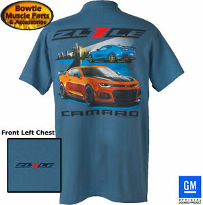 2018 2017 CAMARO ZL1LE 6th GEN T-SHIRT 2016 2019 ZL1 1LE GM OFFICIALLY LICENSED