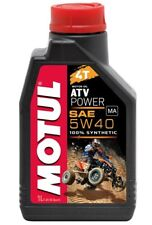 Motul Atv Power 4t 5w40 Aceite de Motor 1L Can Am Outlander Renegade Commander