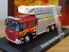 ATLAS OXFORD FIFE SCANIA P AERIAL RESCUE PUMP FIRE ENGINE TRUCK MODEL JW08 1:76