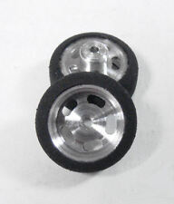 """Pro Track 5/8"""" wd. Custom Scale Front Wheels for 1/24 Slot Car"""
