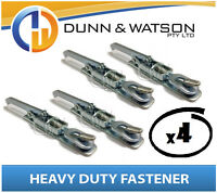 Heavy Duty Over Center Fastener x4 (Lock Latch handle) Trailer Tray (Weld On)