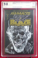 GHOST RIDER #1 (Marvel) PGX (not CGC) 9.8 NM/MT Sketch Cover by CHRIS HENDERSON!