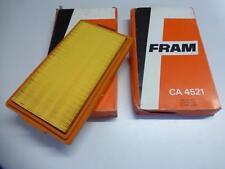 2x fram filtro de aire ca 4521 bmw 318i 518i 520i 525i