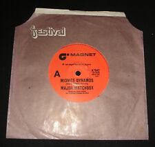 MAJOR MATCHBOX 45 - MIDNITE DYNAMOS   1980   POP