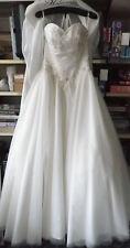 Wedding Prom Dress Designer Handmade Kay Mason One off Design size 10 A line.