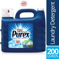All-Purpose Liquid Laundry Detergent Purex Mountain Breeze 300 oz 200 Loads