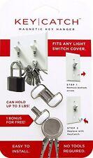 KeySmart KeyCatch - Modern Magnetic Key Rack Organizer