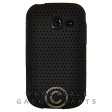 Samsung R480 Freeform 5 Hybrid Mesh Case Black/Black Cover Shell Protector Guard