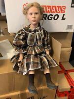 Götz Sabine Esche Künstlerpuppe Vinyl Puppe 80 cm. Top Zustand