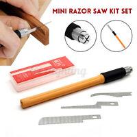 Hobby Mini Saw MiniSäge Mit 3 Verschiedene Blätter DIY Werkzeugen für Modellbau