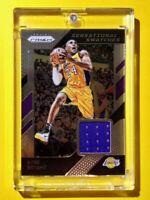 Kobe Bryant PANINI PRIZM SENSATIONAL SWATCHES GAME WORN LAKERS JERSEY - Mint!