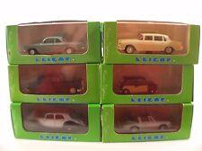 Hobbycar lot Eligor 1113 Mini 1006 Panhard 1127 Jaguar 1132 Lancia 1136 Corvai