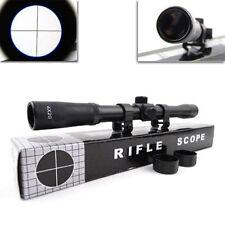 4X 20mm Telescopic Rifle Scope Sight Rifles Crossbows Airsoft Air Rifles Hunting