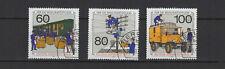 1990 Allemagne Berlin surtaxe oeuvres de bienfaisance 3 timbres oblitérés /T2261