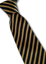 Prochownick men's silk striped tie 8cm wide