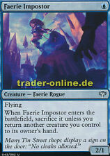 4x Faerie Impostor (Feen-Hochstaplerin) Duel Decks: Speed vs. Cunning Magic