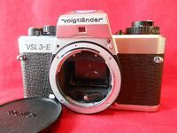 Voigtländer VSL 3-E VSL-3-E Body Gehäuse SLR Kamera Spiegelreflexkamera