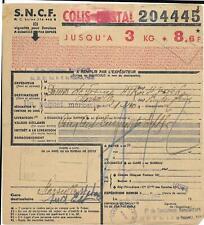 5 x  bulletins d'expédition de Colis postaux  - ( BV ) -  25-05-20