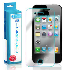 2x iLLumi AquaShield HD Front Screen + Back Panel Protector for Apple iPhone 4