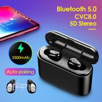 True Wireless Stereo Earbuds Bluetooth 5.0 Cuffie Auricolari Hands-Free Calling