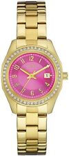 Caravelle New York 44M107 Perfectly Petite Pink Dial Date 3Yr Guar RRP £89