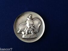 1973 Kirk Collection Dumbo The Magic of Disney KIRK-9 Silver Art Medal P1802