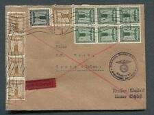 German Reich WW II : RARE official cover from 1939 !!!