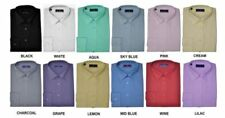 Cotton Long Formal Shirts 44 in. Chest for Men