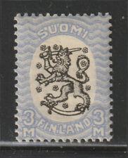 Suomi Finland - 1921 - RARE - Arms of the Republic - Unwmk - Perf. 14 - MLH*